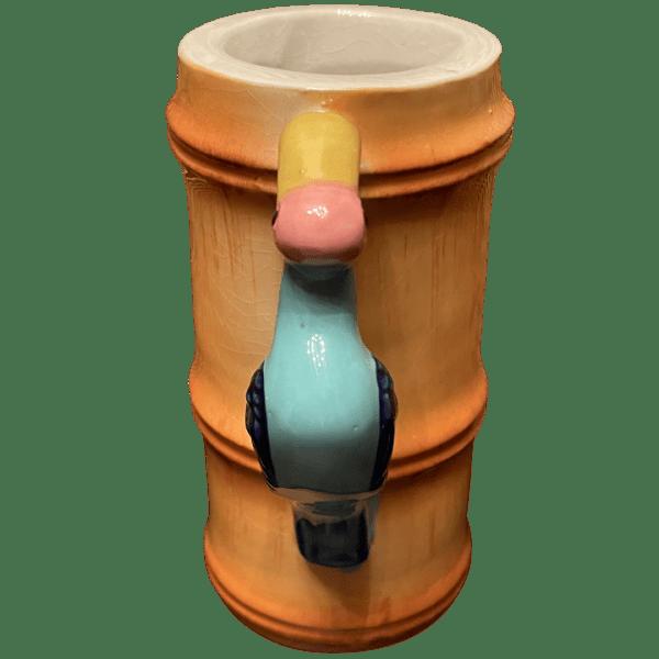 Side - Polynesian Pidgeon Mug - Mauna Loa - Open Edition