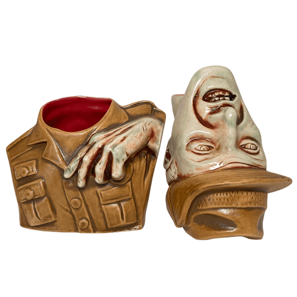 Two Mugs - Zombie Severed Skipper - Lost Temple Traders - Second Horde Edition