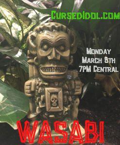 Wasabi Green Tiki Mug