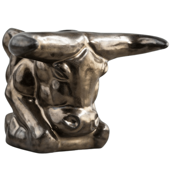 Angle - Golden Bull Mug - Shima Ceramics - 2nd Edition
