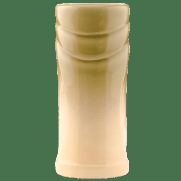 Back - Big Mouth Tiki Mug - Tiki Bauer - Chartreuse and Buttercream Edition