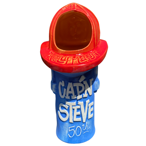 Back - Cap'n Steve Birthday Mug - Ventiki - Limited Edition