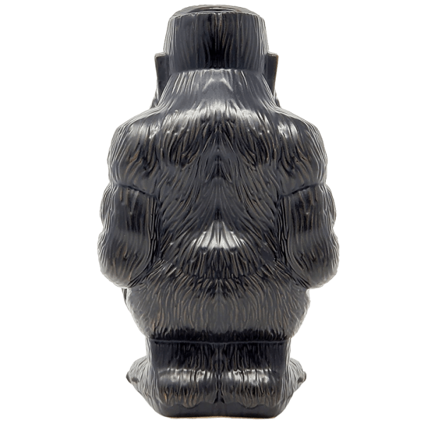 Back - Godzilla vs. Kong Kong Tiki Mug - Mondo - Matte Black Variant