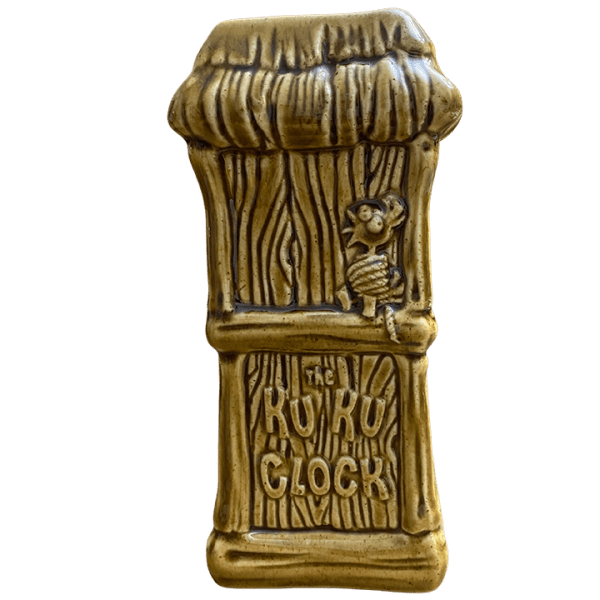 Back - Ku Ku Clock Mug - Tiki Farm - Open Edition