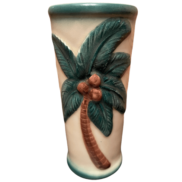 Back - White Skirt Wahine Mug - Orchids of Hawaii - Open Edition