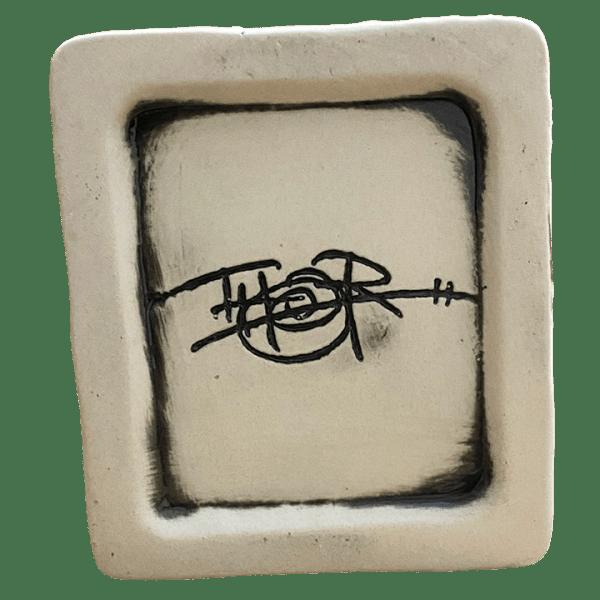 Bottom - Capitol Record Quake Mug - Death & Co. - Bone Edition
