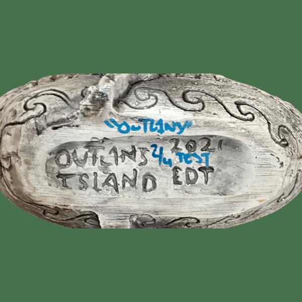 Bottom - Off To S.E.A. Ku - Outl1n3 Island - Test Glaze Edition