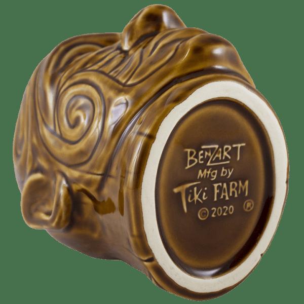 Bottom - Tumuaki Tiki Mug - Tiki Farm - Brown Edition
