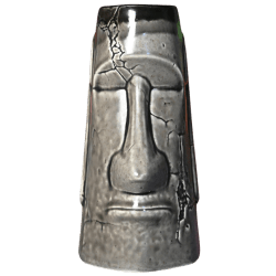 Front - Aku Aku Moai Mug - Biggs Tiki - 2nd Edition