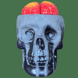 Front - Anatomical Skull - Munktiki - Super Limited Lava Edition
