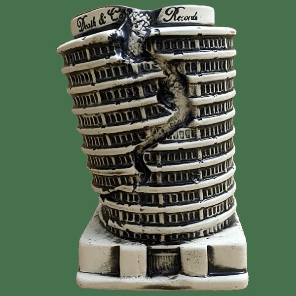 Front - Capitol Record Quake Mug - Death & Co. - Bone Edition