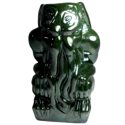 Front - Cthulhu Idol - Shima Ceramics - Colour Out Of Space Green Edition