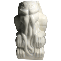 Front - Cthulhu Idol - Shima Ceramics - Placid Island of Ignorance White Edition