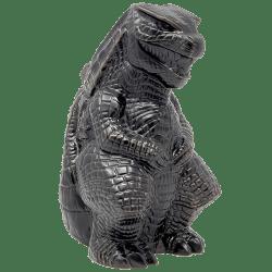 Front - Godzilla vs. Kong Godzilla Tiki Mug - Mondo - Matte Black Variant
