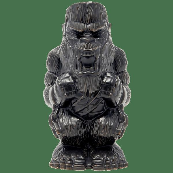 Front - Godzilla vs. Kong Kong Tiki Mug - Mondo - Matte Black Variant