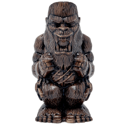Front - Godzilla vs. Kong Kong Tiki Mug - Mondo - Skull Island Variant