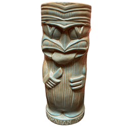 Front - Knife Licker Tiki - Hawaiian Inn - Green Edition