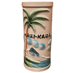 Front - Palm Tree Mug - Maui-Kauai - Open Edition