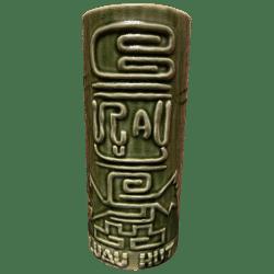 Front - Petroglyph Mug - Luau Hut - Green Edition