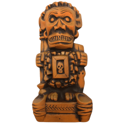 Front - Shriek-ee Tiki - Cursed Idol - Burnt Orange Edition