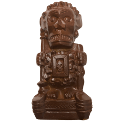 Front - Shriek-ee Tiki - Cursed Idol - Chocolate Bar Edition