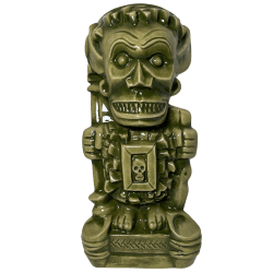 Front - Shriek-ee Tiki - Cursed Idol - Wasabi Green Edition