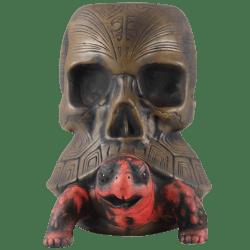 Front - The Passenger Tortoise Skull Mug - Tiki Farm - 1st Edition