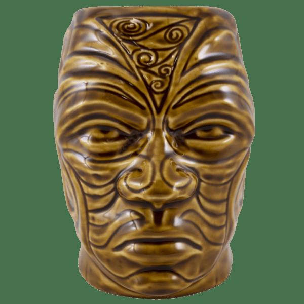Front - Tumuaki Tiki Mug - Tiki Farm - Brown Edition