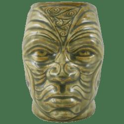 Front - Tumuaki Tiki Mug - Tiki Farm - Green Edition