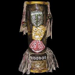 Front - Voodoo (Robert Drasnin) - Gecko'z South Sea Arts - Limited Edition