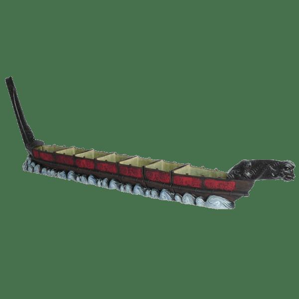 Full - Maori War Canoe Mug Set - Shima Ceramics - Limited Edition