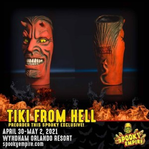 Spooky Empire Tiki From Hell