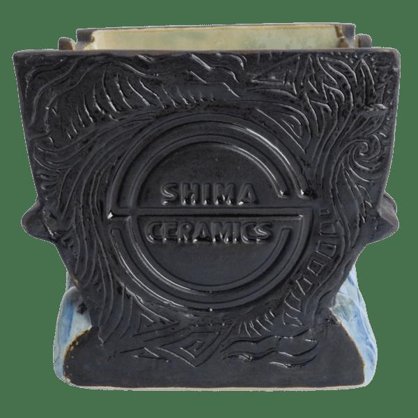 Logo - Maori War Canoe Mug Set - Shima Ceramics - Limited Edition