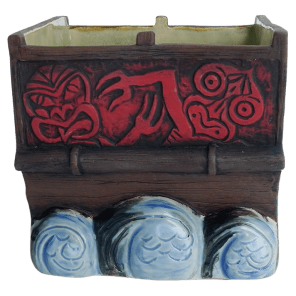 Piece - Maori War Canoe Mug Set - Shima Ceramics - Limited Edition