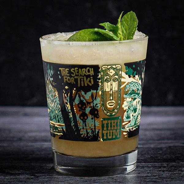 The River Cruise Mai Tai Glass in Green