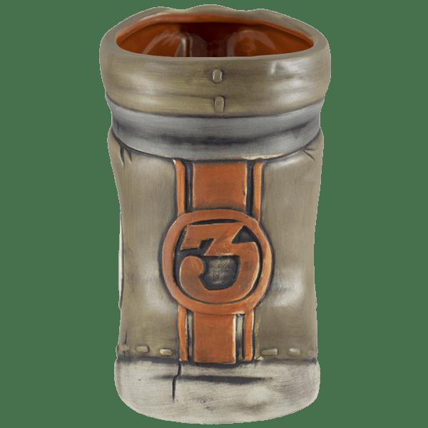 Back - Full Throttle Tiki Mug - Tiki Farm - 1st Edition