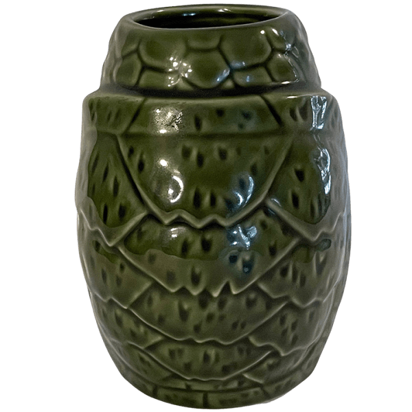 Back - Pau Hana Monu (Turtle) Mug - Tiki Farm - Green Edition