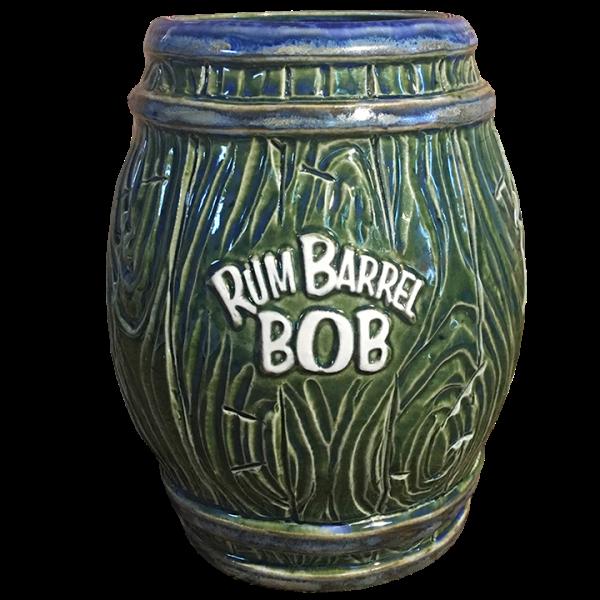 Back - Rum Barrel Bob - BigToe - Green Edition