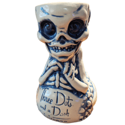 Front - Fijian Mermaid - Three Dots and a Dash - Blue Edition