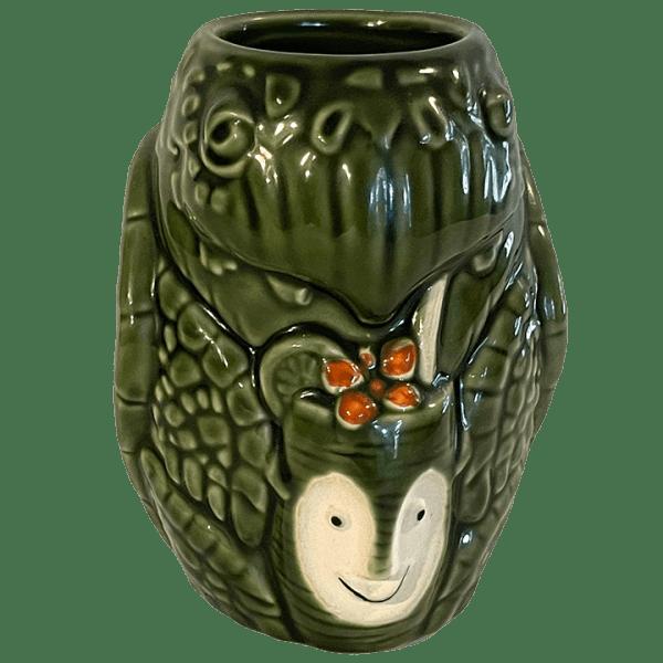Front - Pau Hana Monu (Turtle) Mug - Tiki Farm - Green Edition