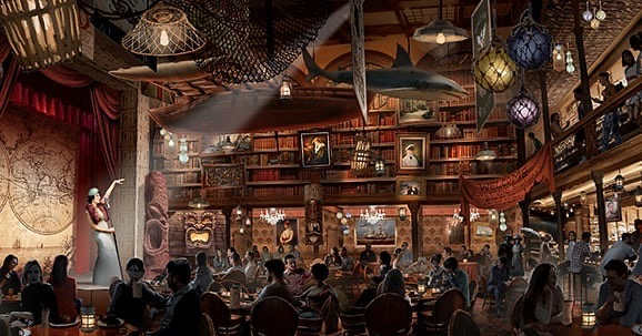 Sorrow Drowner Adventure Bar Concept Art