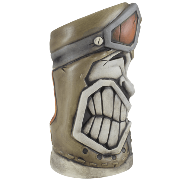 Side - Full Throttle Tiki Mug - Tiki Farm - 1st Edition