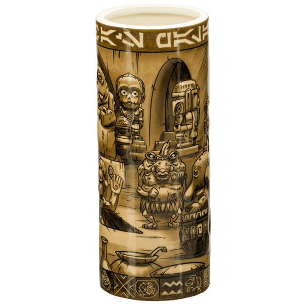 Side - Jabba's Palace Scenic Mug (Star Wars) - Geeki Tikis - 1st Edition