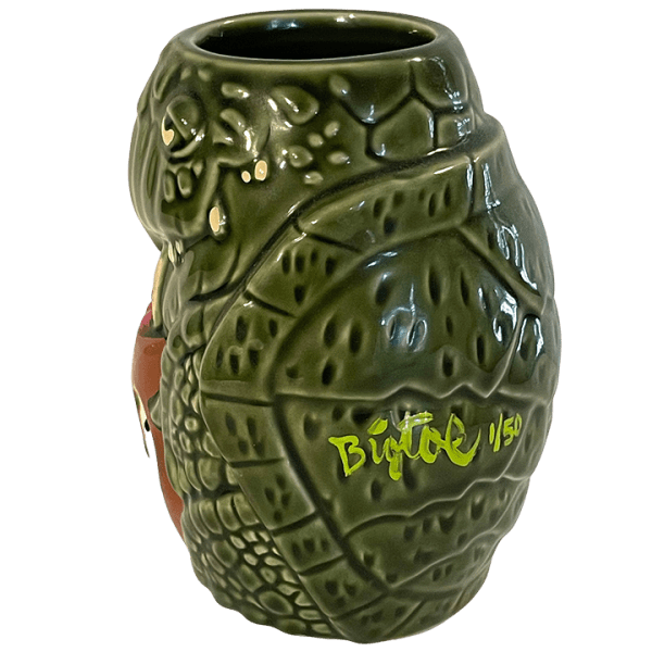 Side - Pau Hana Monu (Turtle) Mug - BigToe - Deluxe Edition