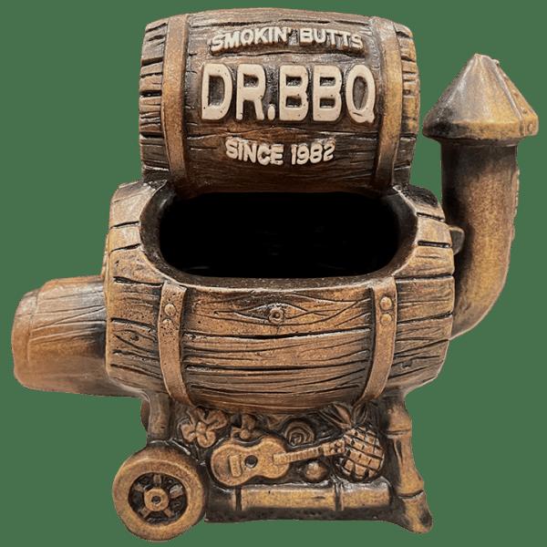 Back - Dr. BBQ Barrel Smoker Mug - Burnt Ends Tiki Bar - 1st Edition