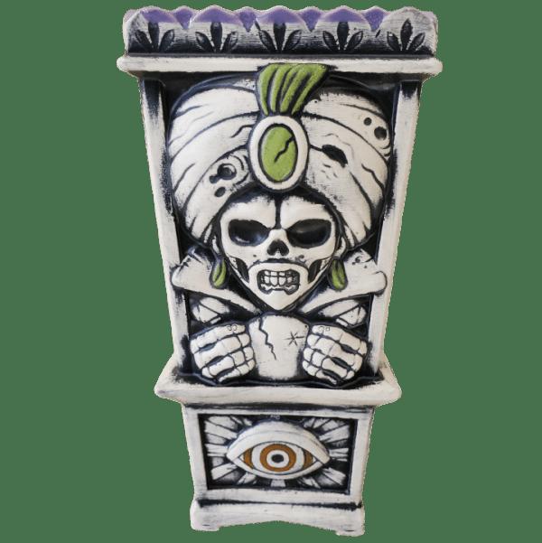 Back - Fortune Teller - Biggs Tiki - Bone White Edition