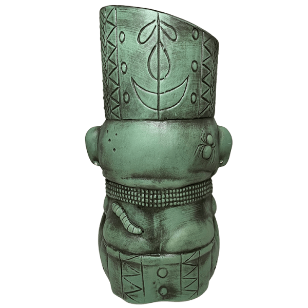 Back - Kaduku Witch Doctor Mug - Lost Temple Traders - Green Edition