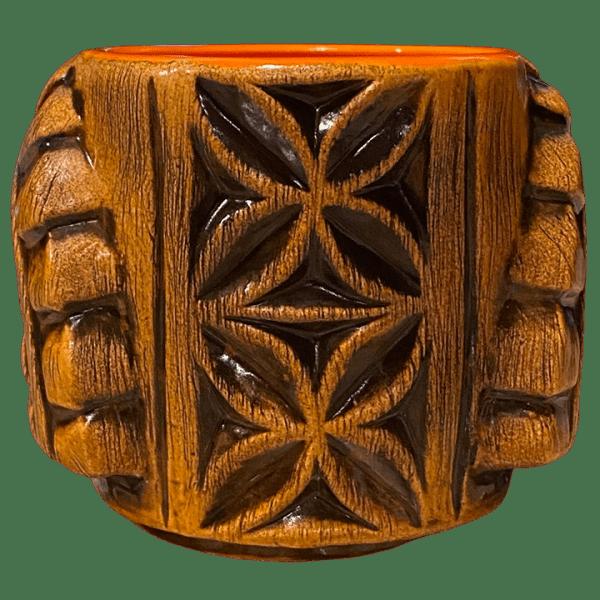 Back - Ku Head (Ohana Hui Tiki Stacker) - TikiRob - Brown Edition