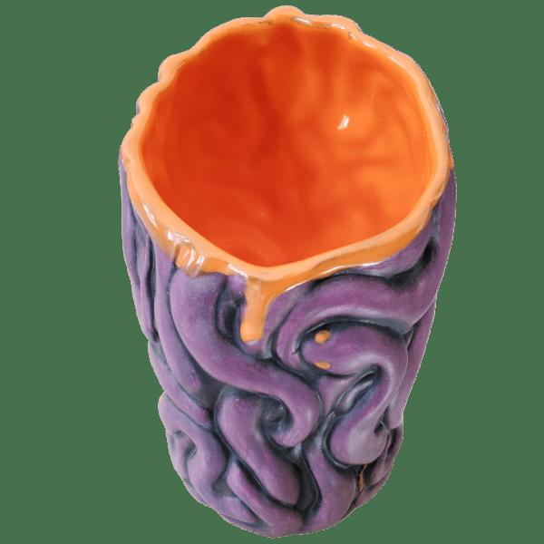 Back - Medusa - Biggs Tiki - Custom Halloween Edition