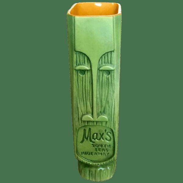 Back - Pau Meli - Max's South Seas Hideaway - AvocadoOrange Edition